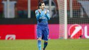 Mkhitaryan esulta dopo il gol (Ansa)