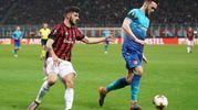 Milan-Arsenal (Lapresse)