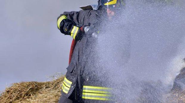 Intervento de vigili del fuoco