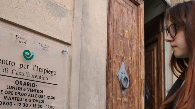 Il Centro per l'impiego di Castelfiorentino (foto Germogli)