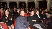 Simone Scipioni al teatro delle Logge durante la finale di MasterChef 7 (foto De Marco)