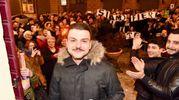 Tutta Montecosaro in festa per Simone Scipioni, vincitore di MasterChef 7 (foto De Marco)