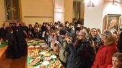 Serata di festa a Montecosaro per il giovane Simone (foto De Marco)