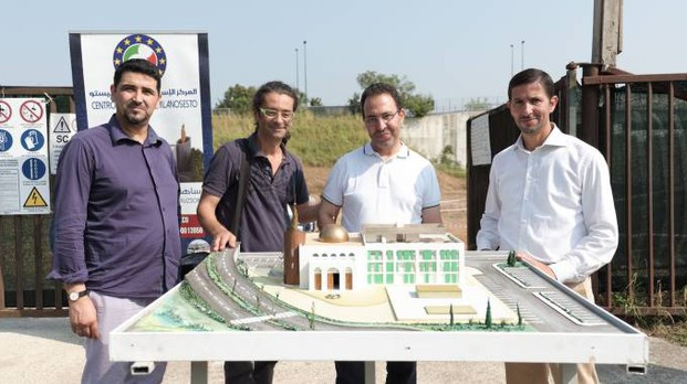 La presentazione del progetto del centro culturale islamico ai tempi dell'accordo col Comune