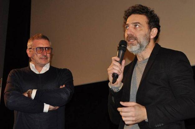 Christian Marazziti con Massimiliano Giometti (Foto Concolino)