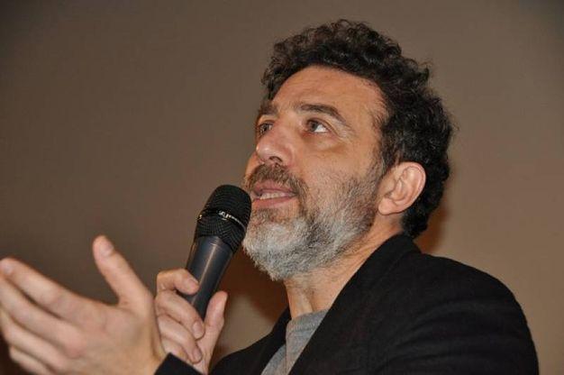 Christian Marazziti alla presentazione del fim Sconnessi (Foto Concolino)
