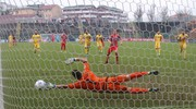 Il gol del grigiorosso Gomez 1-0