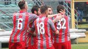Esultanza di Gomez per il gol