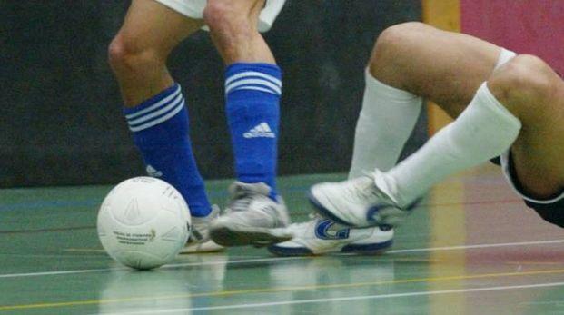 Calcio a 5 in una foto d'archivio (Dardo)