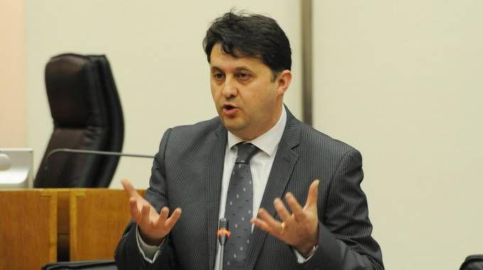 Luca Barberini, assessore regionale alla Salute, Coesione sociale e Welfare SODDISFATTO Luca Barberini, assessore regionale alla Salute, Coesione sociale e Welfare