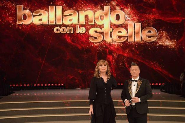 Milly Carlucci e Paolo Belli (LaPresse)