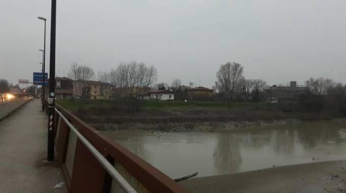 L'Enza al ponte di Sorbolo