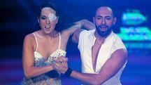 Gessica Notaro e Stefano Oradei a Ballando con le Stelle (Ansa)