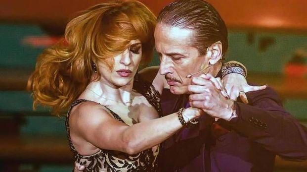 Cesare Bocci a 'Ballando con le stelle' (Ansa)