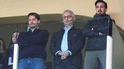 Salica con i fratelli di Davide Astori (Fotocronache Germogli)