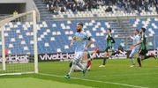 Il gol dello 0-1 Mirco Antenucci (Foto LaPresse)