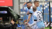 L'esultanza per il gol di Antenucci (Foto LaPresse)
