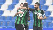 L'esultanza per il gol di Babacar (Foto LaPresse)