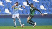 Mirco Antenucci e Peluso (Foto LaPresse) -