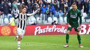 Juventus-Udinese 2-0, Dybala (Lapresse)
