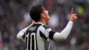 Juventus-Udinese 1-0, Dybala (Lapresse)
