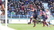 Cagliari- Lazio 1-0, Pavoletti (Ansa)