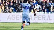 Crotone-Sampdoria 3-1, Zapata (Lapresse)