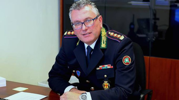 Fabio Germanà  guida il comando di polizia locale