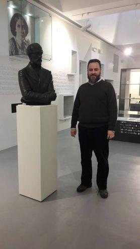 Il busto di Mazzini