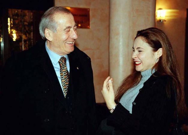 Con Silvia Melis (Ansa)