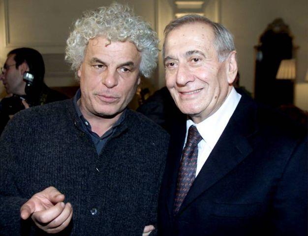 Con Michele Placido alla presentazione   de ''Il sequestro Soffiantini'' (Ansa)