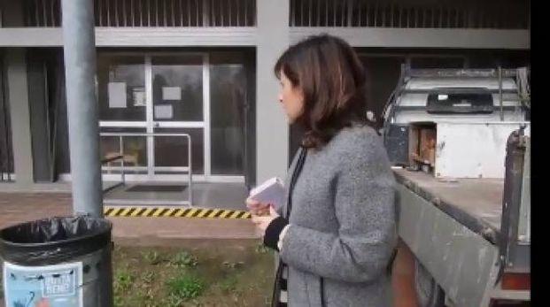 L'ingresso dell'asilo