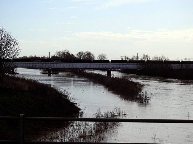 Ponte linea ferroviaria Ferrara-Ravenna (Scardovi)