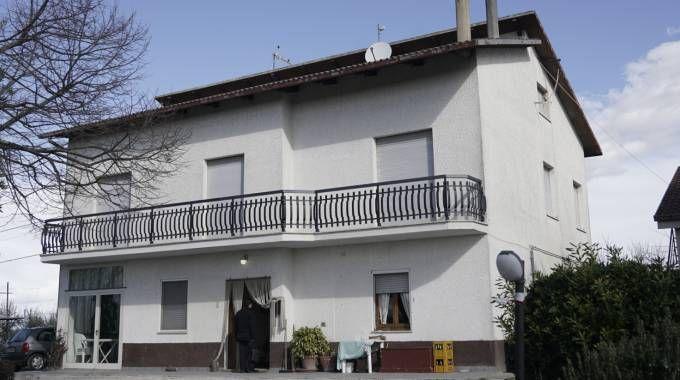 La casa a Montegiorgio dove è morta l'anziana (foto Zeppilli)