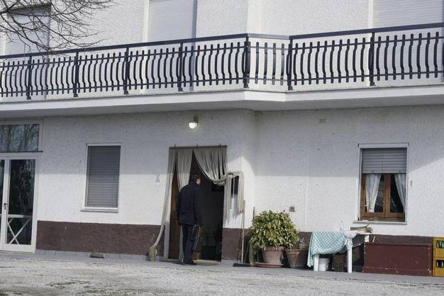 La casa dove è deceduta l'anziana di 79 anni (foto Zeppilli)