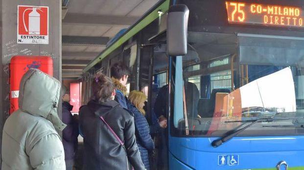 Gli utenti degli autobus in allarme per il cambiamento