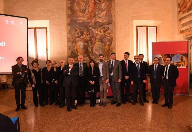 Gli ambasciatori riuniti (foto Schicchi)