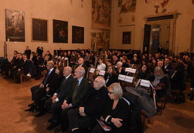 Il pubblico della cerimonia di premiazione (foto Schicchi)