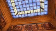 Uno scorcio dei meravigliosi soffitti (foto Artioli)