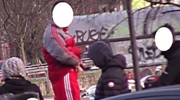 La baby gang filmata dagli inquirenti