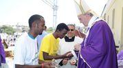 Il primo viaggio: a Lampedusa tra i migranti (8 luglio 2013)