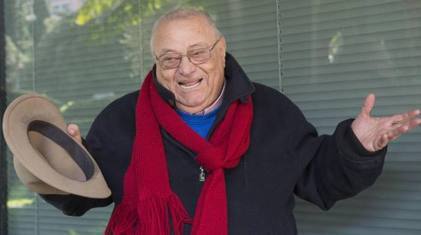 Il giornalista Luigi Necco (Ansa)
