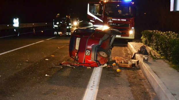 L'incidente mortale a Gabicce mare