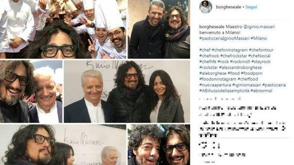 Il post di Alessandro Borghese (Instagram)