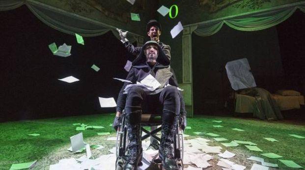 """Una scena de """"Il giocatore"""" tratto da Dostoevskij"""