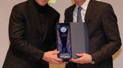 Il presidente dell'Atalanta Percassi insieme all'allenatore Gasperini  (Newpress)