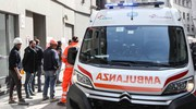 Soccorsi sul luogo dell'incidente (Newpress)