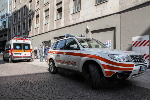 Soccorsi sul luogo dell'incidente (Newpress