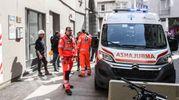 Soccorsi sul luogo dell'incidente (Newpress)