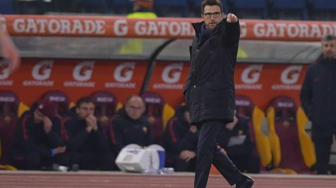 Eusebio Di Francesco, allenatore della Roma (LaPresse)